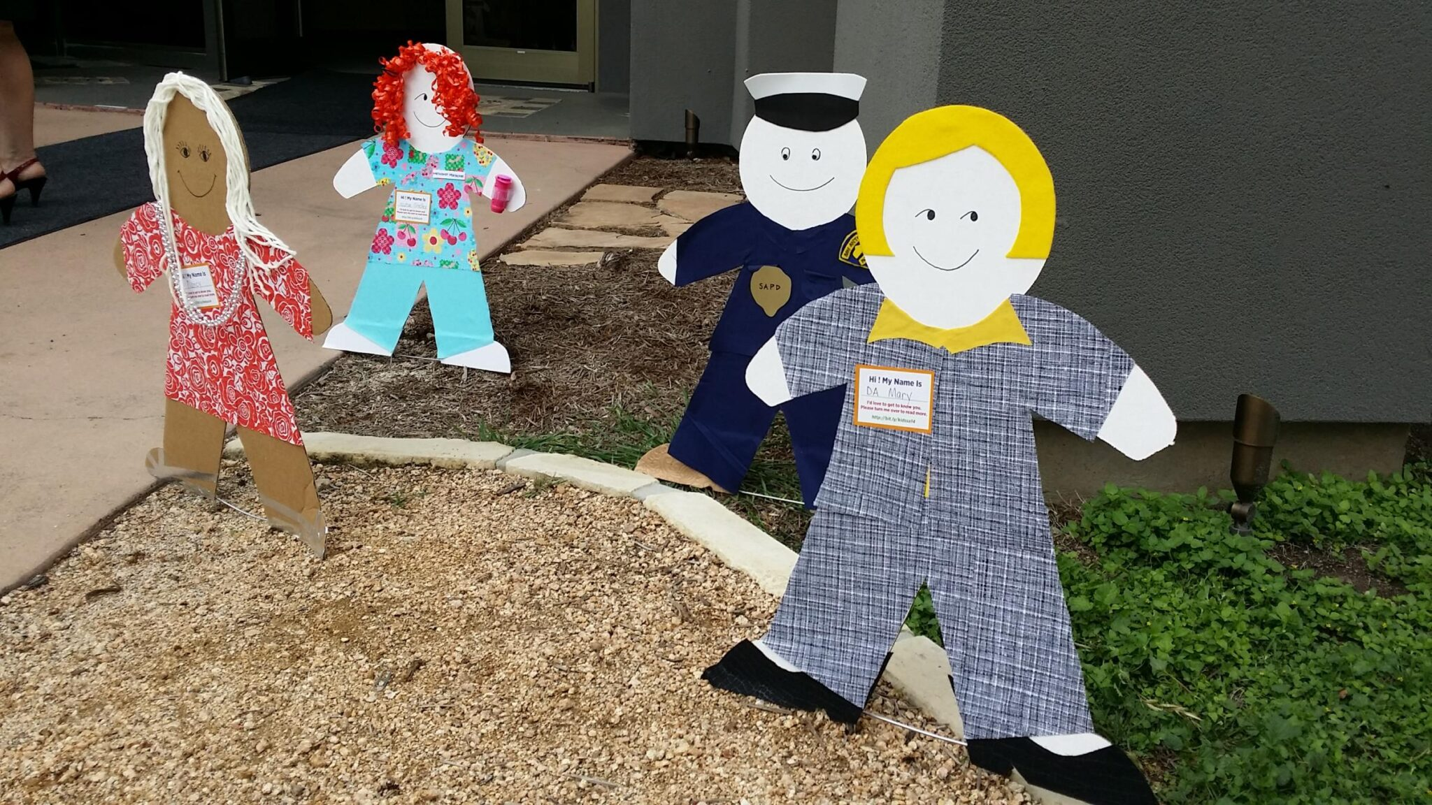 cardboard kids
