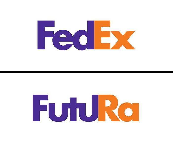 fedex fonts