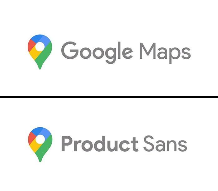 google maps fonts