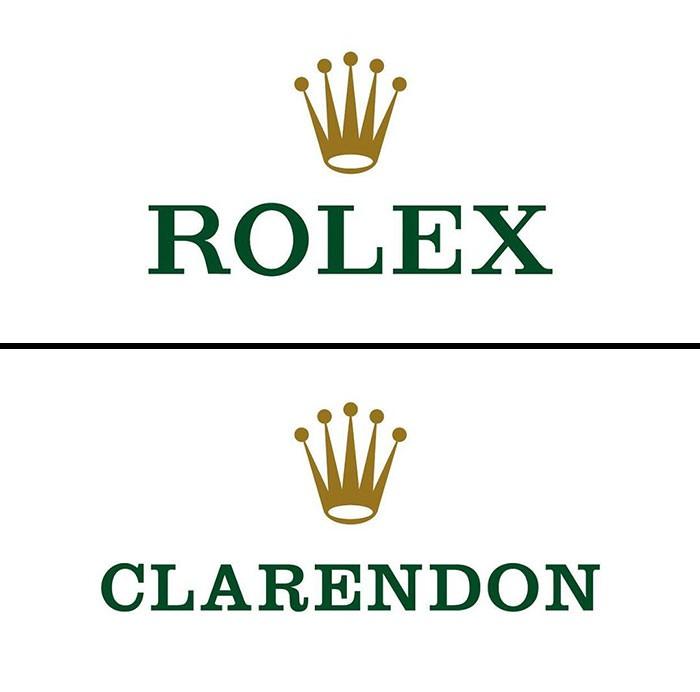 rolex fonts