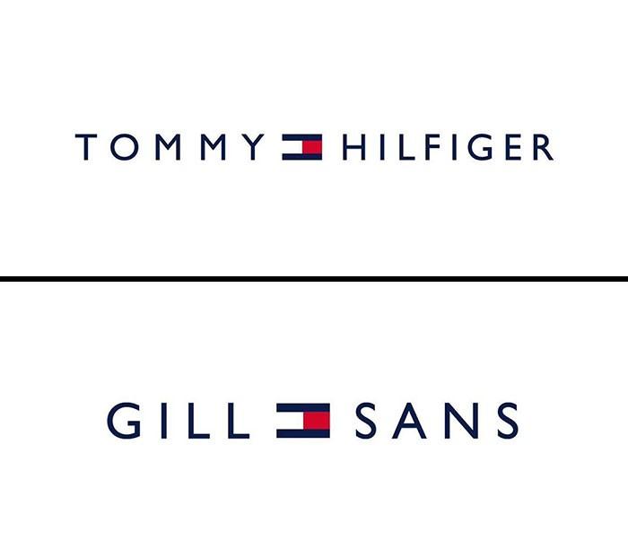 tommy hilfiger fonts