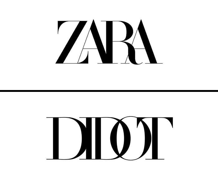 Zara fonts